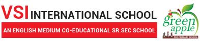 VSI International Sr Sec School in jaipur Logo