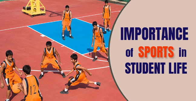 importance of sports in student life