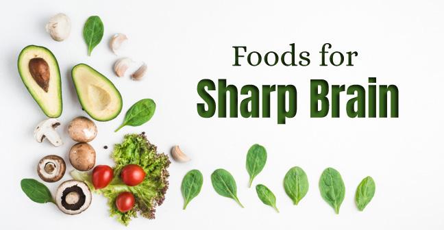 foods for sharp brain